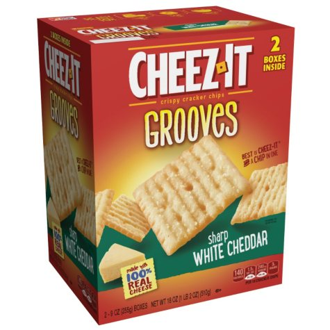 Cheez-it Grooves (18 oz.)