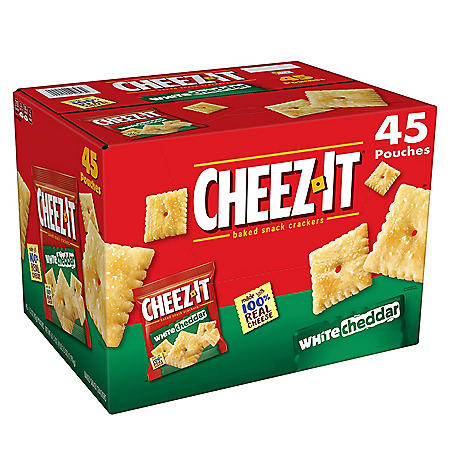 Cheez-It White Cheddar Snack Packs (1.5 oz., 45 pk.)