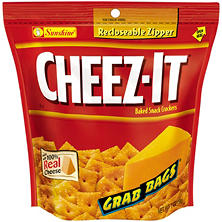Cheez-It Grab Bags Original Baked Snack Crackers (7 oz.)