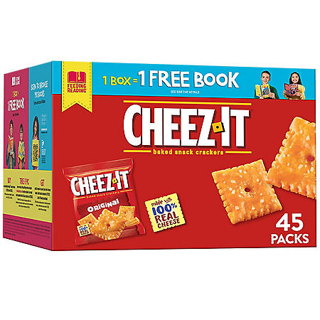 Cheez-It Original Snack Packs (1.5 oz., 45 ct.)