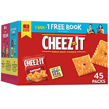 Cheez-It Original Crackers Snack Packs (1.5 oz., 45 ct.)