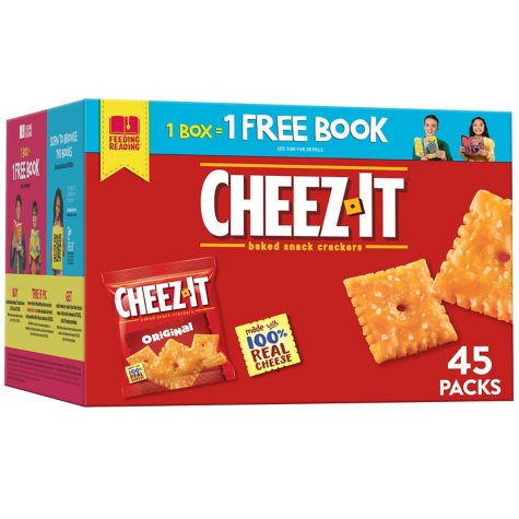 Cheez-It Original Snack Packs (1.5 oz., 45 ct.)