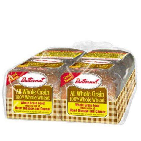 Butternut 100% Whole Wheat Bread (20 oz., 2 pk.)