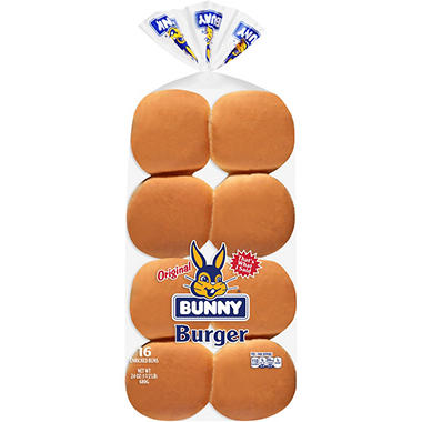 Bunny Original Hamburger Buns (16 ct.)