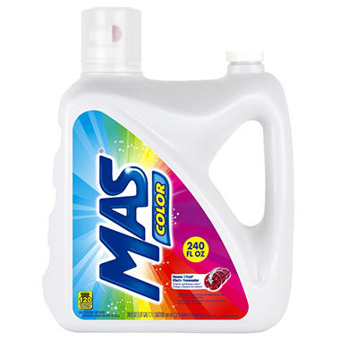 MAS Color Liquid Detergent (120 loads, 240 oz.)