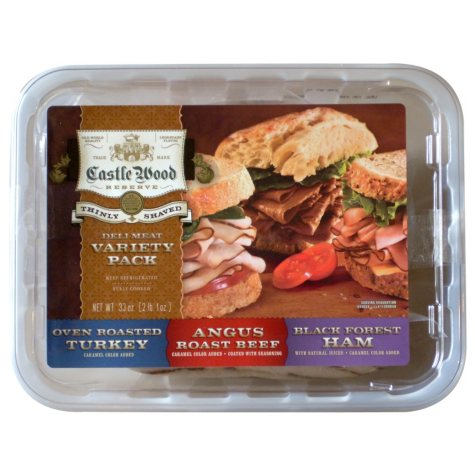 Castlewood Variety Pack Deli Meat