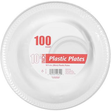 Plastic Plates - 10 1/4  sc 1 st  Samu0027s Club & Plastic Plates - 10 1/4