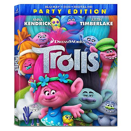 Dreamworks Trolls - DVD