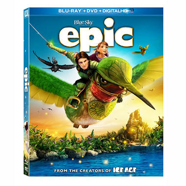 Epic (Blu-ray + DVD + UltraViolet Digital Copy) (Widescreen)