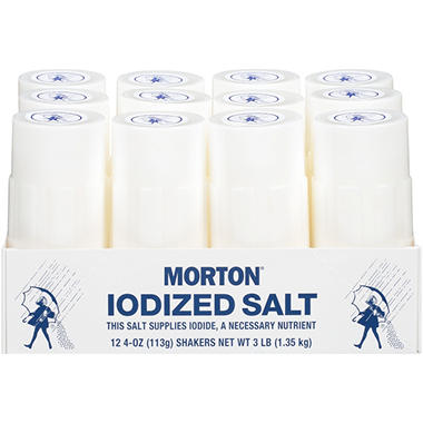 Morton Foodservice Iodized Salt Shakers (12 ct.)