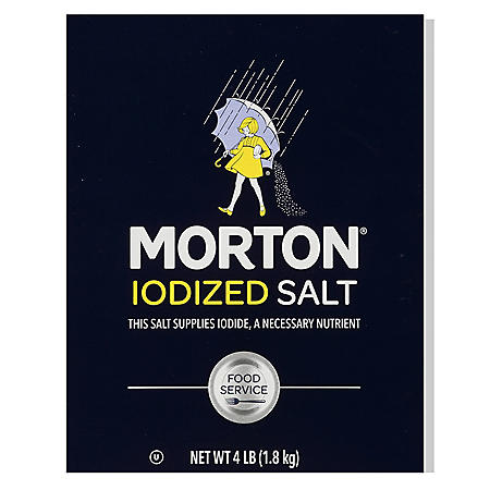 Morton Iodized Salt (4 lbs.)