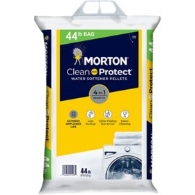 Morton Clean and Protect Water Softener Pellets (44 lbs.)