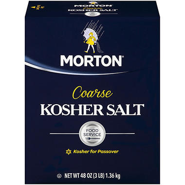 Morton Kosher Salt, Coarse (3 lb.)