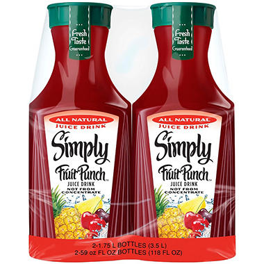 Simply Fruit Punch (1.75 L, 2 ct.)