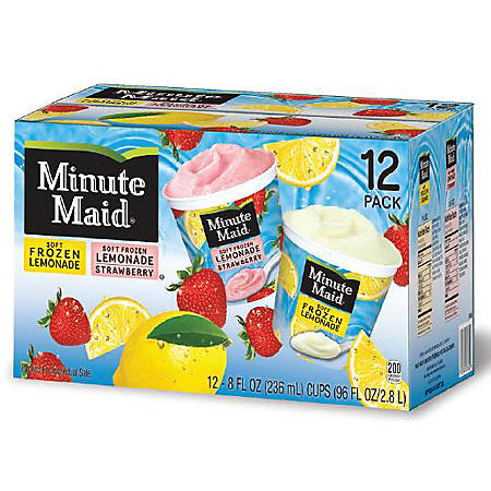 Minute Maid Frozen Lemonade Cups - 8 oz. - 12 ct.