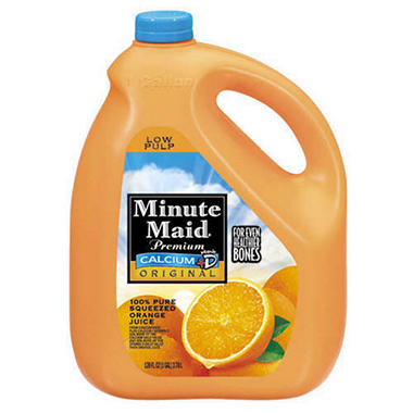Minute Maid Original + Calcium Orange Juice (1 gal.)