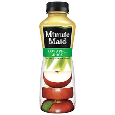 Minute Maid 100% Apple Juice (15.2 oz., 24 ct.)