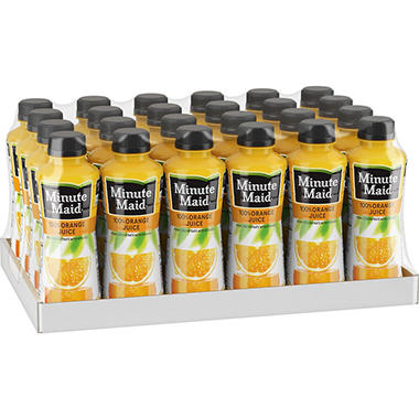 Minute Maid 100% Orange Juice (15.2 oz., 24 ct.)
