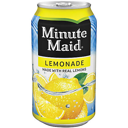 MINUTE MAID LEMONADE 12OZ/20PK