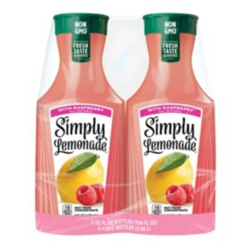 Simply Lemonade With Raspberry (52 fl. oz., 2 pk.)