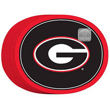 "NCAA University of Georgia Bulldogs Paper Platters (10"" x 12"", 50ct.)"
