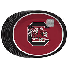 "South Carolina Gamecocks Oval Platters - 10"" x 12"" - 50 ct."