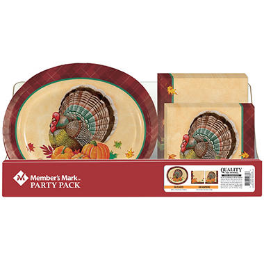 Thanksgiving Harvest Party Pack Plates and Napkins (150 ct.)  sc 1 st  Sam\u0027s Club & Thanksgiving Harvest Party Pack Plates and Napkins (150 ct.) - Sam\u0027s ...