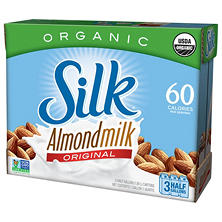 Silk Organic Almond Milk Original (3 pk., 64 oz.)