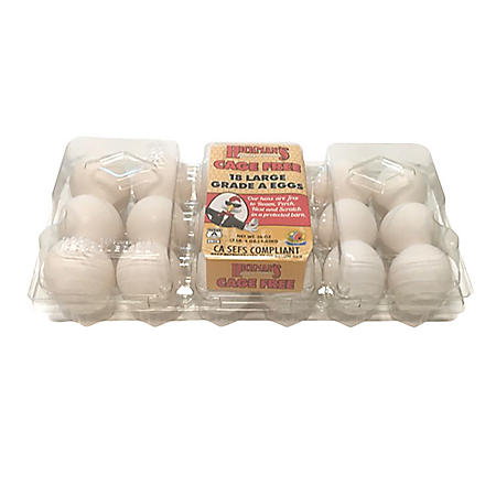 Hickman's Cage-Free White Eggs, Grade A (18 ct.)