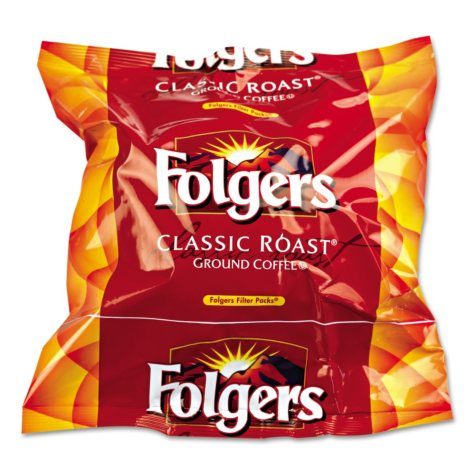 Folgers Classic Roast Ground Coffee, Filter Packs, (0.9 oz., 160 ct.)
