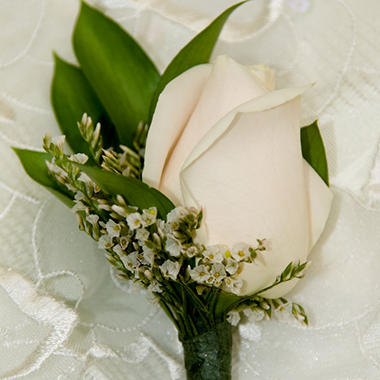 wedding corsage  boutonniere package  white   pc.  sam's club, Beautiful flower