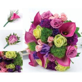 Bulk wedding flowers sams club wedding collection bright 10 pc mightylinksfo