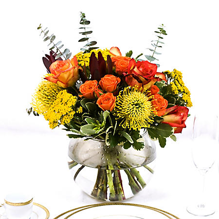 Wedding Collection Earth Tone Centerpieces (6 pieces)