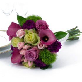 Bridesmaid bouquets sams club wedding collection bright bridesmaid bouquets 2pc mightylinksfo
