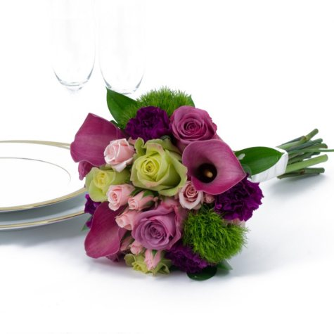 Wedding Collection - Bright - Bridesmaid Bouquets - 3pc
