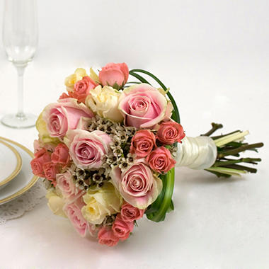 Wedding Collection - Pink - Bridesmaid Bouquets (3 pc.)