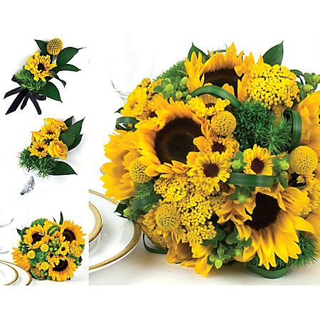Wedding Collection Country Sunflower