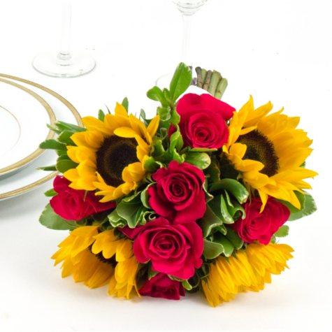Wedding Collection -Bright - Bridesmaid Bouquets - 3pc