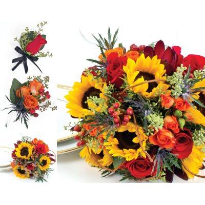 Sunflower Wedding Collection Fall 17 pc Sams Club