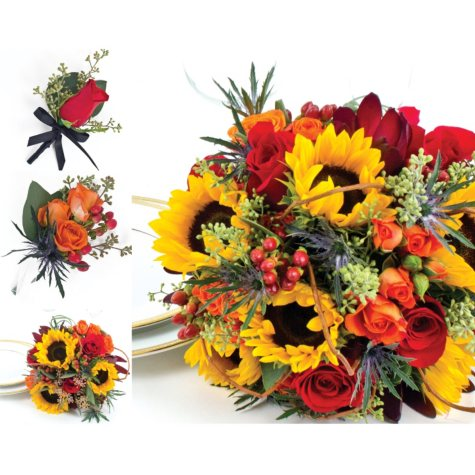 Sunflower Wedding Collection - Fall (43 pc.)