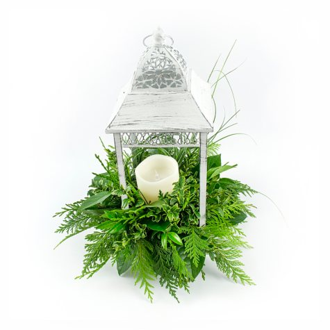 White Wedding Lantern