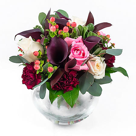 Wedding Collection Marsala Enchanted, Centerpieces (6 pieces)