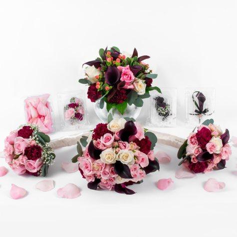 Marsala Enchanted Wedding Collection (43 pc.)