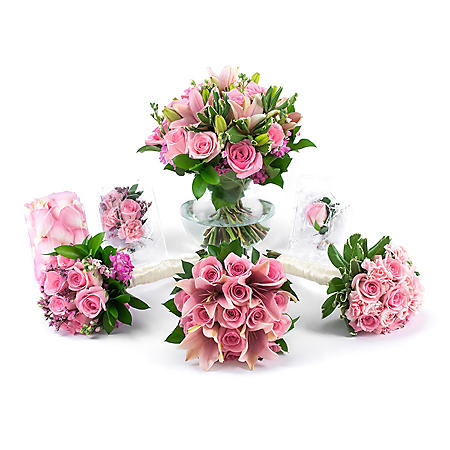 Wedding Collection Pink Passions (17 pieces)