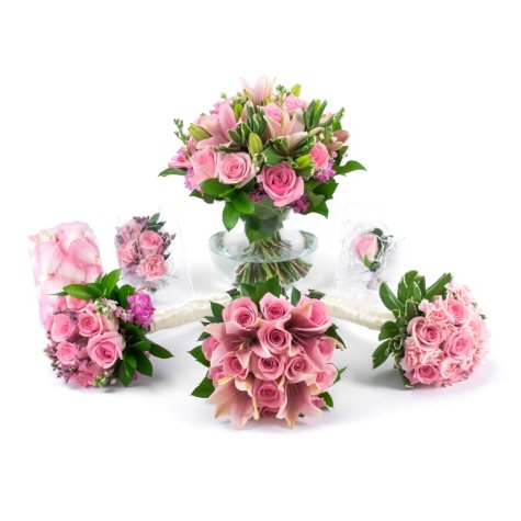Pink Passions Wedding Collection (17 pc.)