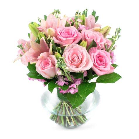 Pink Passions Centerpieces (6 pc.)