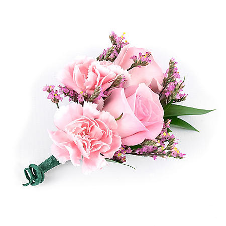 Wedding Collection Pink Passions, Corsage and Boutonniere ( Choose12 or 24 pieces)