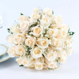 Collections sams club white rose wedding collection 17 pc mightylinksfo