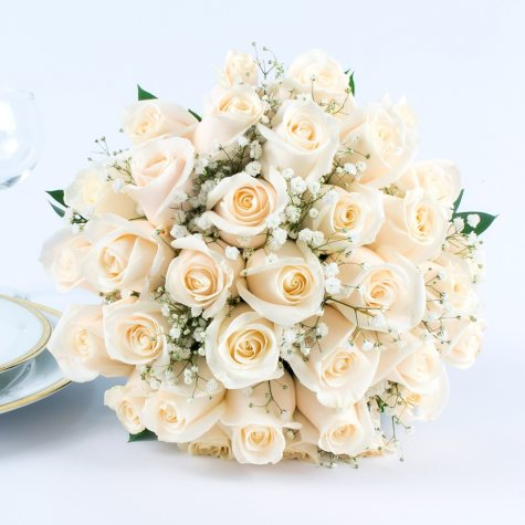 White Rose Wedding Collection (43 pc.)