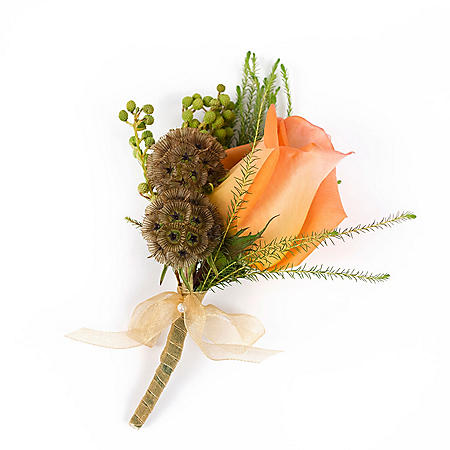 Wedding Collection Woodland, Corsage and Boutonniere (Choose 12 or 24 piece)
